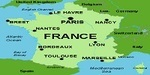 Map of french