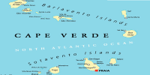 Map of Cape Verdean